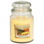 18oz Glass Jar Candle - Tropical Fruit