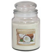 18oz Glass Jar Candle - Coconut