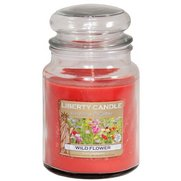 18oz Glass Jar Candle - Wild Flower