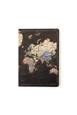 Man Of The World A5 Notebook