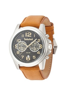 Timberland Mens Black Pickett Watch