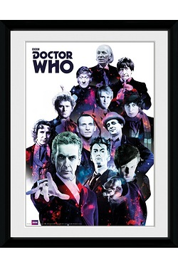 Dr Who Cosmos 16x12' Framed Photo