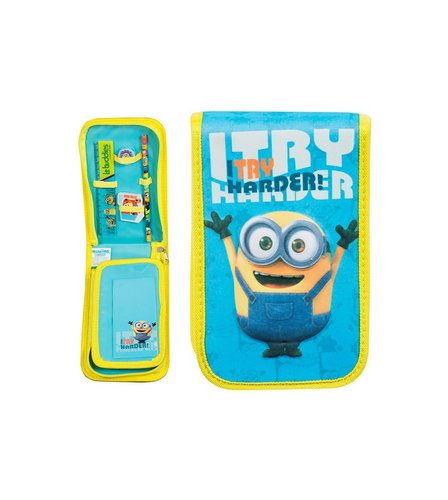 Image for Minions Tri-Fold Filled Pencil Case from ace