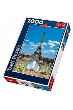 Eiffel Tower 2000 Piece Puzzle