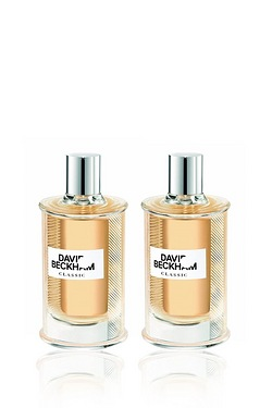 David Beckham Classic EDT Twin Pack