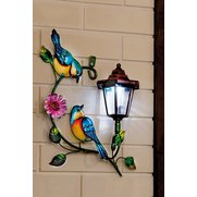 Solar Bird Wall Plaque
