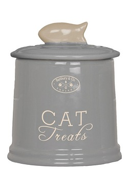 Banbury & Co Ceramic Cat Storage Jar