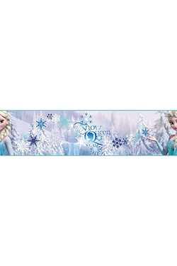 Frozen Snow Queen Border