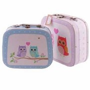Love Owls Set Of 2 Decorative Cases
