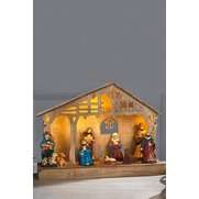 LED Nativity Scene
