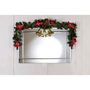 Poinsettia & Holly Set Of 2 Swags