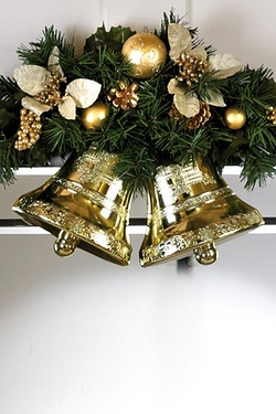 Decorated Twin Bells