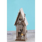 Wooden LED Birdhouse