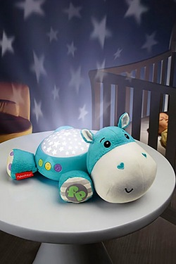 Fisher Price Hippo Snuggle Soother