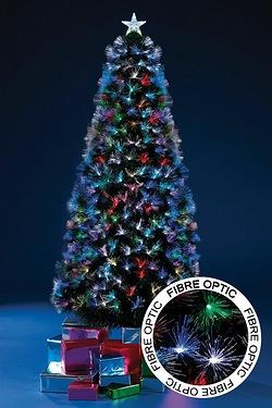 fibre optic burst tree - Led Christmas Trees