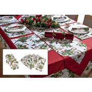 12-Piece Holly & Ivy Table Set