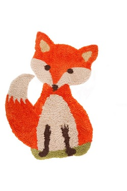Animals Freddie Fox Brown Rug