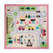 Kiddy Town Map - Girls