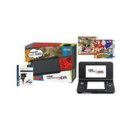 New Nintendo 3DS Black Console + Ma...