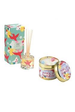 Birds Of Paradise Tinned Candle & R...