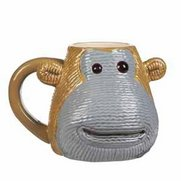 Monkey Shaped Mug