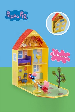 Peppa Pig House and Garden Playset