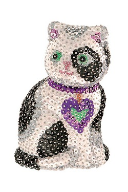 Sequin Art 3D Cat