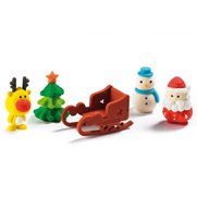 Novelty Christmas Rubbers