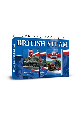 British Steam DVD & Book Set