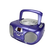 Groov-e Boombox Portable CD Player ...