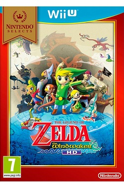 Wii U: The Legend of Zelda: Wind Waker HD Select