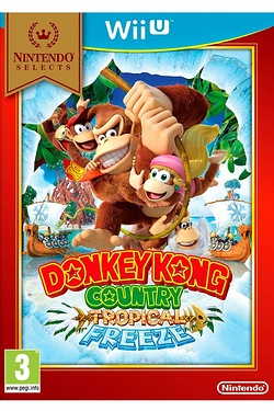 Wii U: Donkey Kong Country: Tropical Freeze Select