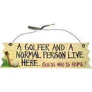 A Golfer And A Normal Person Live H...