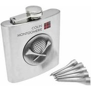 Colin Montgomerie Golfers Hip Flask...