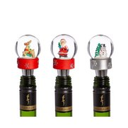 Snowglobe Bottle Stoppers