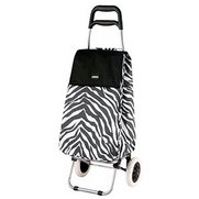 Zebra Shopping Trolley