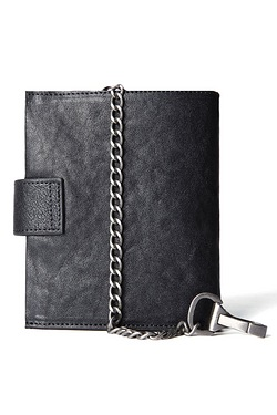Chain Leather Wallet