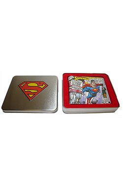 Superman Flying Wallet In A Tin