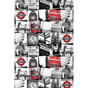 Fresco London Montage Wallpaper