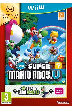 Wii U: New Super Mario Bros U + New Super Luigi U Selects
