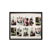 10 Peg Washing Line Photo Frame