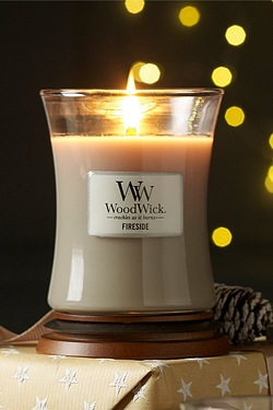 Woodwick Medium Candle - Fireside