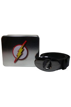 The Flash Metal Buckle Belt In A Tin