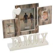 Family Triple Photo Frame
