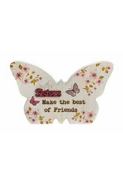 Butterfly Plaque - Sister
