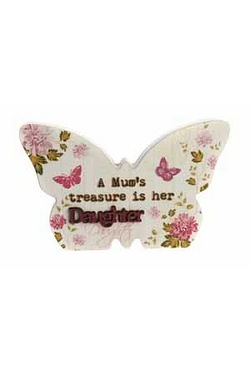 Butterfly Plaque - Daughter