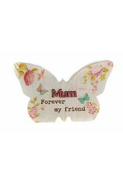 Butterfly Plaque - Mum