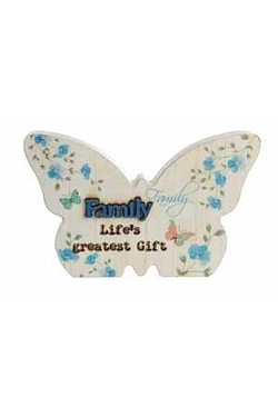 Butterfly Plaque - Family