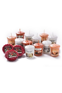 15-Piece Votive & Melts Bumper Set