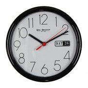 Small Black Wall Clock